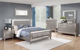 Silver Bedroom Furniture Sets by Bedroom Best Mirrored Furniture Also With A Silver For Glass Plan