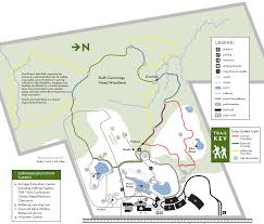 Map Dayton Ohio by Cox Arboretum Five Rivers Metroparks