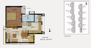 1 bhk floor plan mahaveer ranches hosa road apartments bangalore