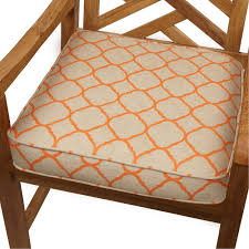 Poolside Seat Cushion Mozaic Company Sunbrella Corded Indoor Outdoor Chair Cushion