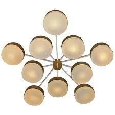 Large Flush Mount Ceiling Light by Gold 8 Light Crystal Ball Modern Square Flush Mount Ceiling Light