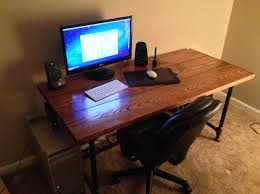 Desk Used Wood Desks For Sale Build A Wood Plank Desktop For by How To Make A Custom Minimalist Desk For Relatively Cheap Snapguide