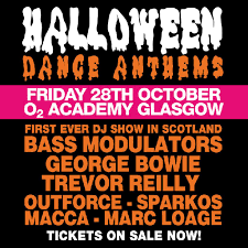 halloween dance images halloween dance anthems 2016 tickets o2 academy glasgow glasgow