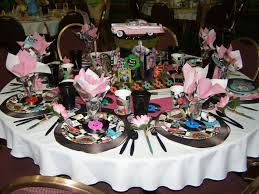 50s Style Bedroom Ideas Tablescape I Did For A Women U0027s Event The Theme Was Garden Party