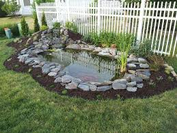 Backyard Pond Images Stylish Design Back Yard Ponds Marvelous 17 Beautiful Backyard