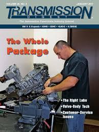 transmission digest january 2011 manual transmission valve