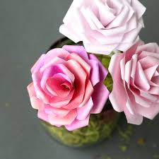 paper roses make gorgeous paper roses with this free paper template