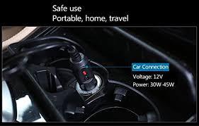 coussin si e auto chauffe sièges auto avec support coussin de chauffage 12 volts