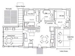 Energy Efficient Floor Plans Efficient Kitchen Floor Plans Cafe Kitchen Layout Classic House