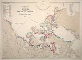 Map Of Canada And Alaska by Explorations In Northern Canada And Adjacent Portions Of Greenland