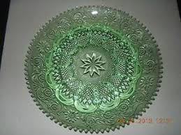 glass egg plate 39 best indiana glass chantilly green think images on