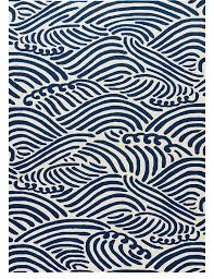Polypropylene Rugs Outdoor by High Seas Navy Blue Outdoor Rug Modern Coastal Wave Pattern And
