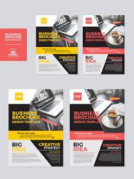 free business brochure design templates dribbble graphics