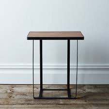 round wood and metal side table stunning coffee metal and round wood table big large picture for