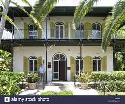 Hemingway House Key West The Hemingway House In Key West Florida Stock Photo Royalty Free