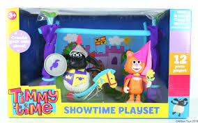 timmy showtime playset u0026 figures cbeebies
