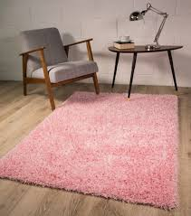 Large Kids Rug by New Small Large Thick Soft Baby Pink Shaggy Rugs New Non Shed 5cm