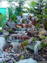 backyard waterfall kits home outdoor decoration