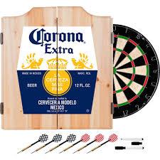 Corona Patio Umbrella by Corona Dart Board Set With Cabinet Label Walmart Com