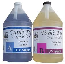 Two Part Epoxy Resin Bar Top Amazon Com Epoxy Crystal Clear Table Top Resin 1 1 2 Gallon Kit