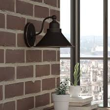 Gooseneck Wall Sconce Industrial Wall Sconces You U0027ll Love