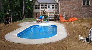 How Much To Concrete Backyard Jensen U0027s Pools U0026 More