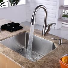 sinks faucets endearing chrome finish metal pull out faucet and