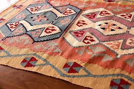 turkish vintage kilim rug lovely colors kelim antique art red home