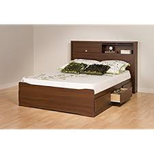 amazon com cherry queen mate u0027s platform storage bed with 6