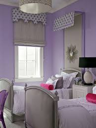 Purple Pink Bedroom - purple and gray girls room contemporary u0027s room
