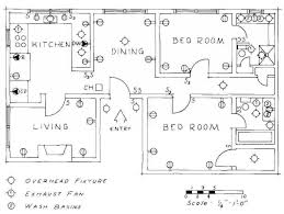 electrical floor plan drawing electrical drawing for architectural plans house floor plan