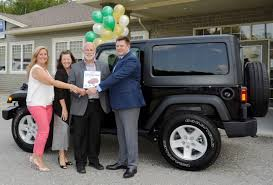 jeep wrangler canada claude dery of fredericton wins 2017 jeep wrangler sport s in
