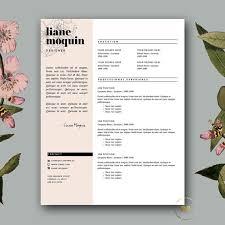 Stylish Resume Templates Word Stylish Resume Template Cover Letter Creative Resume Design