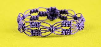diy beaded flower bracelet images Diy easy square knot flower bracelet jewelry wonderhowto jpg