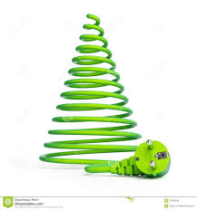 electric christmas tree clipart clipground