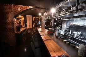 restaurant cuisine ouverte image cuisine ouverte et salle de restaurant rdc atelierjmca