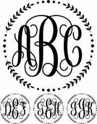 create monogram initials monogram initials monogrammed fonts pinteres