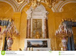 st petersburg hermitage gold room stock photo image 63615647