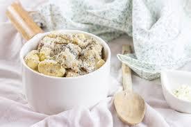 cuisiner les gnocchis gnocchis aux chignons crème de parmesan cuisine moi un mouton
