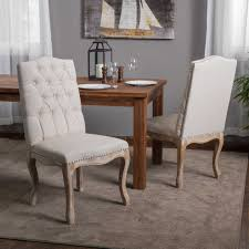 Parsons Chair Leather Chair Beige Dining Set Have Tufted Parsons Chair To It Morgana