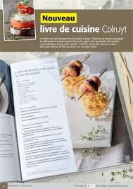 livre cuisine colruyt folder colruyt nouveau livre ded cuisine colruyt