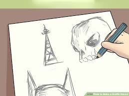 3 ways to make a graffiti stencil wikihow