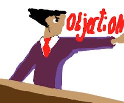 Objection Meme - objection guy meme game phoenix wright drawing by ehpir