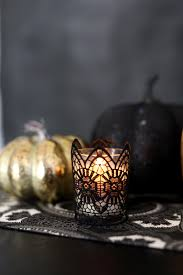 easy halloween table decor evite