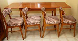 tribute 20th decor mid century modern danish teak dining table