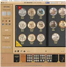 photo album sets new pcgs digital coin album lets you proudly display your sets