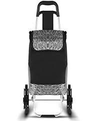 siege de caddie lifemax chariot de course à 6 roues avec siège amazon fr hygiène