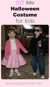 Halloween Costumes 50s Diy 50s Halloween Costume Kids Boys Girls Coupon Closet