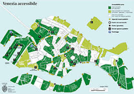 venice map the accessible venice map rome and italy guided tours and