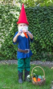 gnome costume for toddlers diy gnome costume lia griffith